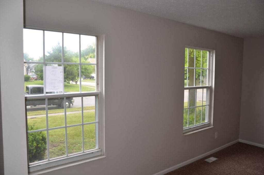 After: brand-new windows to brighten up a space